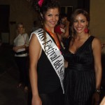 Melita Toniolo e miss Sorriso